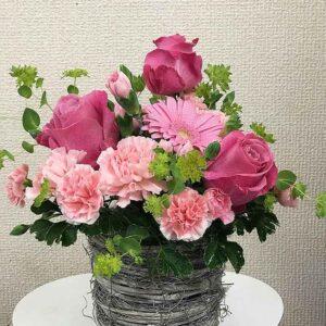 お誕生日のお祝い(アレンジメント)07